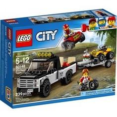 Конструктор Lego City Гоночная команда (60148)