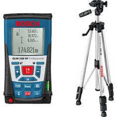 Дальномер Bosch GLM 250 + штатив BS150 (0.615.994.02J)