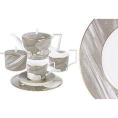 Чайный сервиз 21 предмет на 6 персон Naomi Лунная соната (NG-I160703S-21)