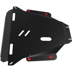 Защита картера и КПП АвтоБРОНЯ для Honda CR-V (2007-2012), сталь 2 мм, 111.02104.2