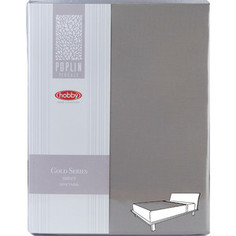 Простыня Hobby home collection на резинке 180х200 см визон (1501001999)