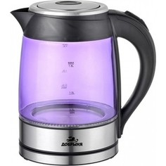 Чайник электрический Добрыня DO 1228 V фиолетовый