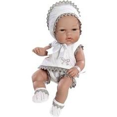 Кукла Arias ELEGANCE пупс винил.в бело-беж.костюмчике со стразами Swarowski ,33см,кор. (Т59284)