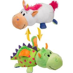 Мягкая игрушка 1Toy Вывернушка 35 см 2в1 Единорог-Дракон (Т10927)