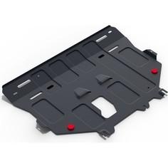 Защита картера и КПП АвтоБРОНЯ для Ford Kuga (2013-2016 / 2016-н.в.), сталь 2 мм, 111.01860.1