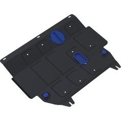 Защита картера и КПП Rival для Ford Fiesta (2008-2015 / 2015-н.в.), сталь 2 мм, 111.1805.2