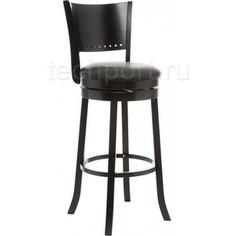 Барный стул Woodville Fler cappuccino/black