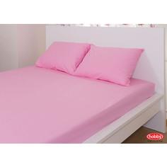 Набор из простыни и наволочек Hobby home collection (160x200/50x70-2) розовый (1501000727)