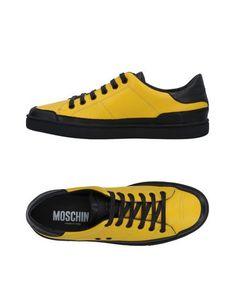 Низкие кеды и кроссовки Moschino