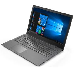 "Ноутбук LENOVO V330-15IKB, 15.6"", Intel Core i3 7130U 2.7ГГц, 4Гб, 1000Гб, Intel HD Graphics 620, DVD-RW, Windows 10 Professional, 81AX00DHRU, темно-серый"