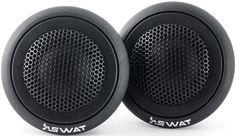 Колонки автомобильные SWAT SP TW-R10, твитер, 100Вт, комплект 2 шт.