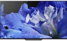"""OLED-телевизор SONY BRAVIA KD65AF8BR2 64.5"""", Ultra HD 4K (2160p), черный/ серебристый"""