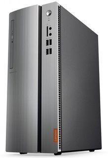 Компьютер LENOVO IdeaCentre 310-15IAP, Intel Pentium J4205, DDR3L 4Гб, 500Гб, Intel HD Graphics 505, DVD-RW, CR, Windows 10, черный и серебристый [90g6000krs]