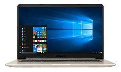 """Ноутбук ASUS S510UN-BQ171T, 15.6"""", Intel Core i5 8250U 1.6ГГц, 8Гб, 1000Гб, 128Гб SSD, nVidia GeForce Mx150 - 2048 Мб, Windows 10, 90NB0GS1-M02300, золотистый"""