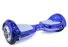 """Гироскутер HOVERBOT Premium B-4, 8"""", поддержка Bluetooth, встроенные колонки, синий [gb4be]"""