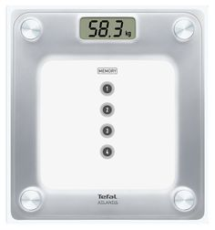 Напольные весы TEFAL PP3020V1, до 160кг, цвет: белый [2100086098]
