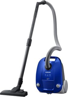 Пылесос SAMSUNG VCC4140V3A, 1600Вт, синий
