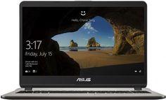 """Ноутбук ASUS X507UB-EJ043, 15.6"""", Intel Core i3 6006U 2.0ГГц, 4Гб, 1000Гб, nVidia GeForce Mx110 - 2048 Мб, Endless, 90NB0HN1-M00780, серый"""
