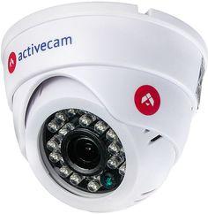 Видеокамера IP ACTIVECAM AC-D8121IR2W, 3.6 мм, белый