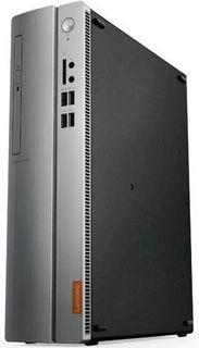 Компьютер LENOVO IdeaCentre 310S-08IAP, Intel Pentium J4205, DDR3 4Гб, 1000Гб, NVIDIA GeForce GT730 - 2048 Мб, DVD-RW, CR, Windows 10, черный и серебристый [90ga000krs]