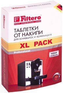 Очиститель от накипи FILTERO Арт.608, для кофеварок и кофемашин, 10 шт