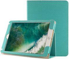 "Чехол для планшета IT BAGGAGE ITIP20172-6, бирюзовый, для Apple iPad 2017 9.7"""