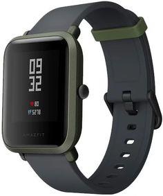 """Смарт-часы XIAOMI Amazfit Bip, 1.28"""", зеленый / серый [uyg4023rt]"""