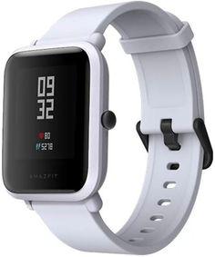 """Смарт-часы XIAOMI Amazfit Bip, 1.28"""", белый / белый [uyg4024rt]"""