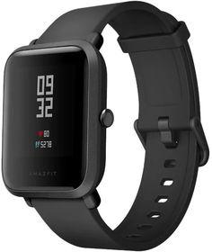 """Смарт-часы XIAOMI Amazfit Bip, 1.28"""", черный / черный [uyg4021rt]"""
