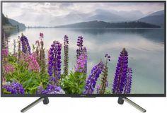 """LED телевизор SONY BRAVIA KDL49WF804BR """"R"""", 48.5"""", FULL HD (1080p), черный/ серебристый"""