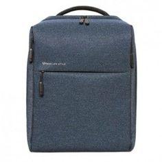 """Рюкзак XIAOMI Mi City Backpack 15"""" полиэстер и нейлон темно-синий [zjb4068gl]"""