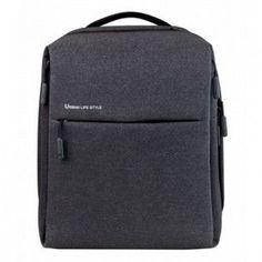"""Рюкзак XIAOMI Mi City Backpack 15"""" полиэстер и нейлон темно-серый [zjb4067gl]"""