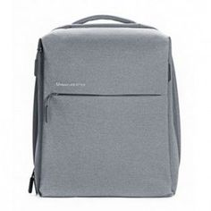 "Рюкзак XIAOMI Mi City Backpack 15"" полиэстер и нейлон светло-серый [zjb4066gl]"