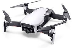 Квадрокоптер DJI Mavic AIR Fly More Combo с камерой, белый