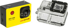 Экшн-камера SMARTERRA W4 1080p, желтый [spw40616]