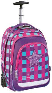 Ранец Step By Step BaggyMax Trolley розовый/фиолетовый Pink Star [00138537]