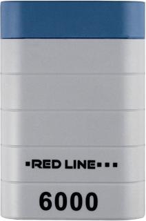 Портативное зарядное устройство Red Line S7000 6000 мАч (белый)