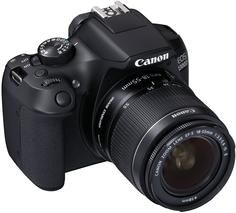 Зеркальный фотоаппарат Canon EOS 1300D EF-S 18-55 DC III (черный)