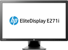 Монитор HP EliteDisplay E271i (серебристый)