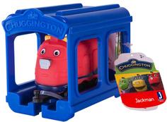 Игровой набор CHUGGINGTON Паровозик Джекман с гаражом