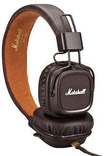 Наушники Marshall Major II (коричневый)