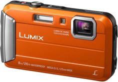 Цифровой фотоаппарат Panasonic Lumix DMC-FT30 (оранжевый)