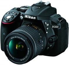Зеркальный фотоаппарат Nikon D5300 Kit 18-55 VR AF-P (черный)