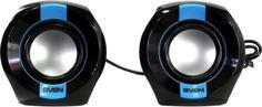 Портативные колонки Sven 150 (черно-синий)