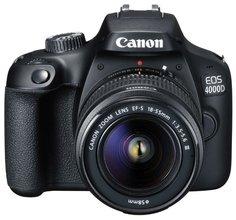 Зеркальный фотоаппарат Canon EOS 4000D 18-55DC III (черный)