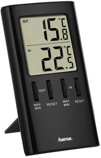 Термометр Hama Т-350 H-123143 (черный)