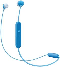 Наушники Sony WI-C300 (синий)