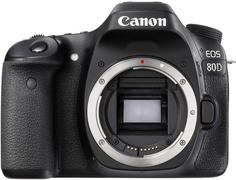 Зеркальный фотоаппарат Canon EOS 80D Body (черный)