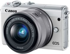 Цифровой фотоаппарат Canon EOS M100 Kit 15-45 IS STM (белый)