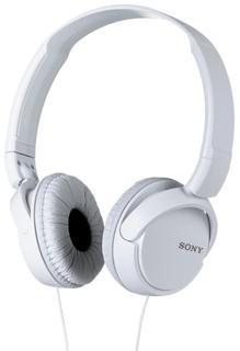 Наушники Sony MDR-ZX110AP (белый)
